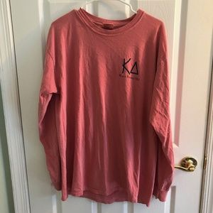 Kappa Delta formal long sleeve comfort colors L